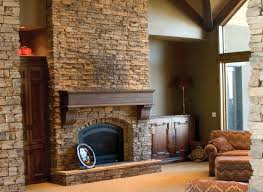 faux stone fireplace brilliant fake articles with veneer surround over brick tag regard to 5
