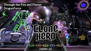 Clone Hero Android Pc Dragonforce Ttfaf Chart For Joystick