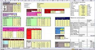 Ballpark Invoice Software Costing Template Incloude Info