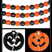 <b>Halloween Decorations Pumpkin</b> Bat Gost Spider <b>Skull</b> Floral Print ...