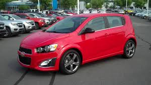 2016 Chevrolet Sonic Hatchback RS Red, Burns Cadillac Chevrolet ...