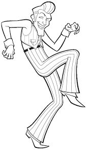 Robbie Rotten Lazy Town Coloring Page Sketch Coloring Page