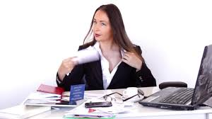 hot office pic. Very Hot In The Office, Business Woman At Desk Suffering Without Air Conditioner. Stock Footage - YouTube Office Pic