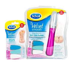 Scholl Velvet Smooth Elektrický Pilník Na Nehty Electroworldcz