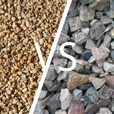 crushed stone vs pea gravel what s