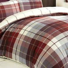tartan duvet cover cosy warm set red pink double asda tartan duvet cover clan covers uk asda green double