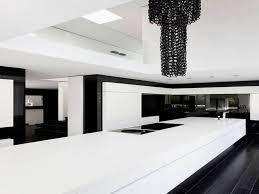 Black And White Modern Kitchen Modern Black And White Kitchen Decor Modern Black White Kitchen