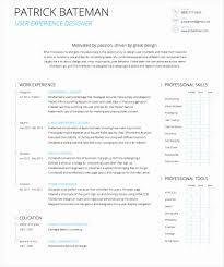 Ux Ui Designer Resume Unique Ux Design Resume Designer Style By In