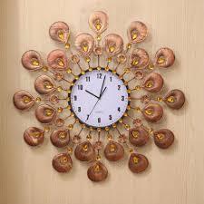 decorations diy clock designs designer wall decor on fashion pc diy large d wall clock mirror