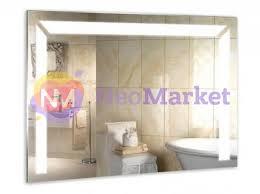 Купить <b>Зеркало Mixline Диамант 750x535mm</b> LED Backlight ...