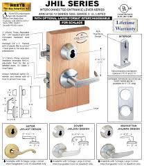 Locksets - JHL Lockset Series