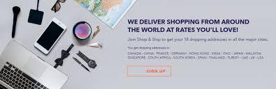 Shop & <b>Ship</b>