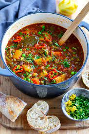 instant pot vegetable stew with