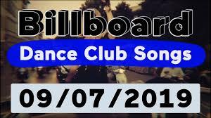 Billboard Disco Charts Billboard Top 50 Dance Club Songs September 7 2019