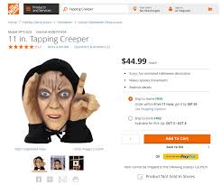 Small Picture Scary Peeper Creeper Halloween Decoration Pulled From Home Depot