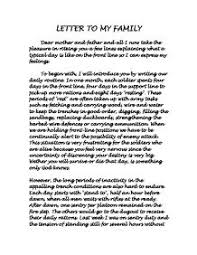 essay for family french speaking topic my family gcse modern letter to my family gcse english marked by teacherscom