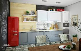 Cozy Kitchen Playful And Modern Russian Apartment By I Am Home Studio Home Design
