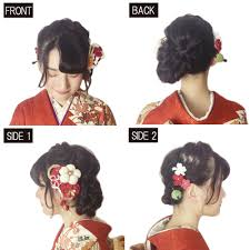 ロングヘア編み込みで華やかスタイル成人式の髪型ヘアアレンジ