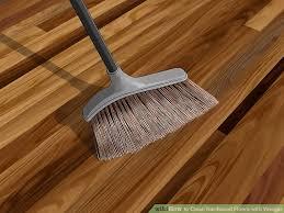 image led clean hardwood floors with vinegar step 1