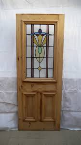 reclaimed stained glass door image