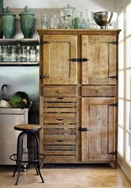 Image of: Kitchen Armoire Antique