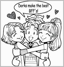 Bff Coloring Pages Prettier The Gallery For Chibi Template Best
