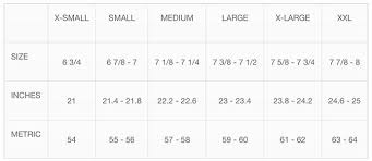 Center Cap Size Chart Welcome To Jj Hat Center New Yorks Oldest Hat Shop