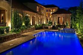 swimming pool lighting ideas. Outdoor Pool Lighting Deck Area  Ideas Swimming