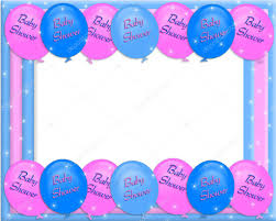Party Borders For Invitations Baby Shower Invite Borders Baby Shower Invitation Border