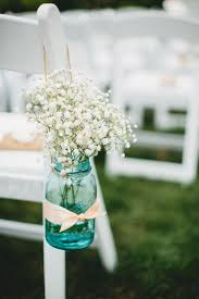 Blue Mason Jars Wedding Decor 100 Ways to Save 100100100 on Your Wedding Peach Boutique and 47
