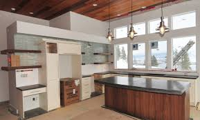 Poured Concrete Kitchen Floor Modern Kitchen Concrete Countertops