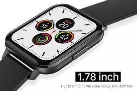 Video) Đồng Hồ Thông Minh 2020 DTX Smart Watch Màn Hình Lớn 1.78 inch Tràn  Viền Vô Cực Chống Nước IP 68