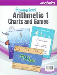 Abeka Homeschool Arithmetic 1 Charts And Games New Edition
