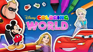 Best free coloring pages for kids & adults to print or color online as disney, frozen, alphabet and more printable coloring book. Disney Coloring World Ranked 1 On The App Store