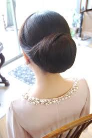 結婚式 髪型シニヨン アップbell桜新町用賀桜新町用賀の美容