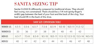 Sanita Shoe Size Conversion Chart Details About Sanita Womens Geo Clog Printed Synthetic Leather Nurse Shoe