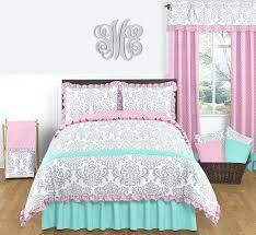 girls comforter sets pink gray and turquoise full queen girls bedding set of 3 childrens comforter girls comforter sets