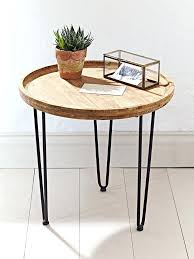 3 legged side table round wooden bedside tables end table side three legged bedside table