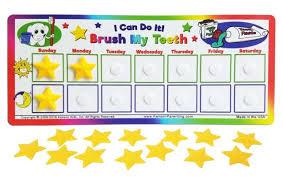 Kenson Kids I Can Do It Brush My Teeth Reward Chart Kpsoh3000
