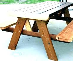 folding wood picnic table folding picnic table plans casual round wood picnic tables wooden picnic table folding wood picnic table
