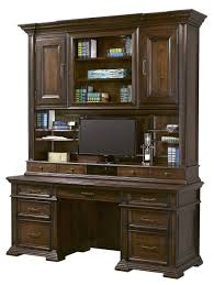 74 inch traditional grand classic credenza and hutch home office computer desk furniture by aspenhome hutch home traditional a26 office