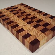 Multi Wood End Grain Cutting Board
