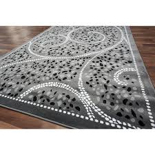 amazing black and grey area rugs gy grey with red area rug 2u0027 x intended for black and gray area rugs
