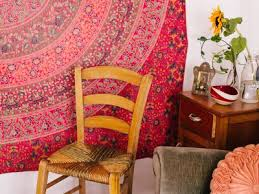 how to hang rugs on the wall