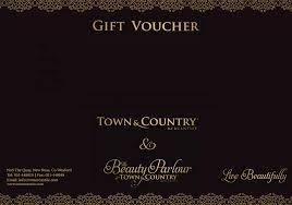 2018 gift voucher