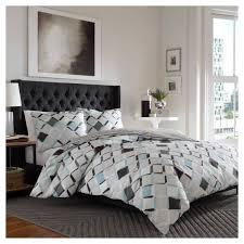 jackson geometric comforter set gray  city scene  ebay