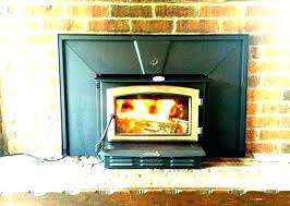 wood fireplace blower vs no insert fans system zero clearance burning with lovely blowers for b
