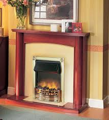 horton brass inset electric fire from dimplex