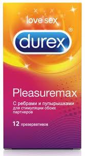 Презервативы <b>Durex Pleasuremax</b>, <b>презерватив</b>, с ребрами и ...