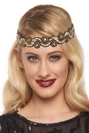 Gatsby Hair Style 1920s style flapper headbands headdresses wigs 7765 by stevesalt.us